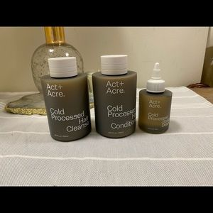 Act + Acre hair product kit
